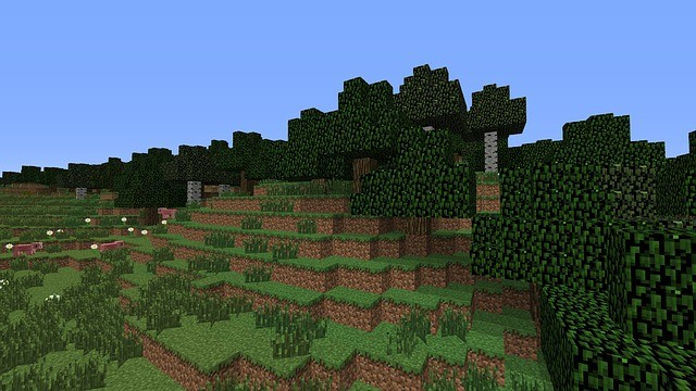 """An image from """"Minecraft,"""" of Microsoft that is about to get an Education Edition."""