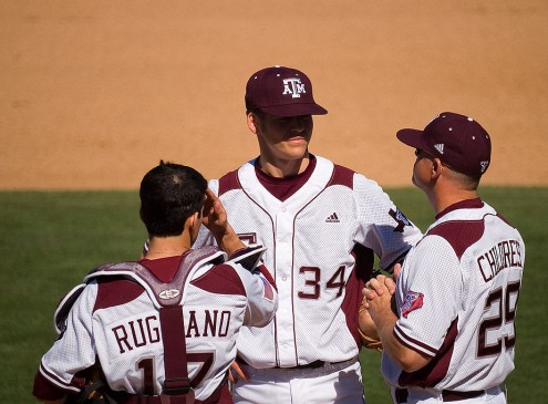 NCAA Super Regional Baseball Tournament 2016 Update: Aggies defeat TCU 7-1, force Game 3