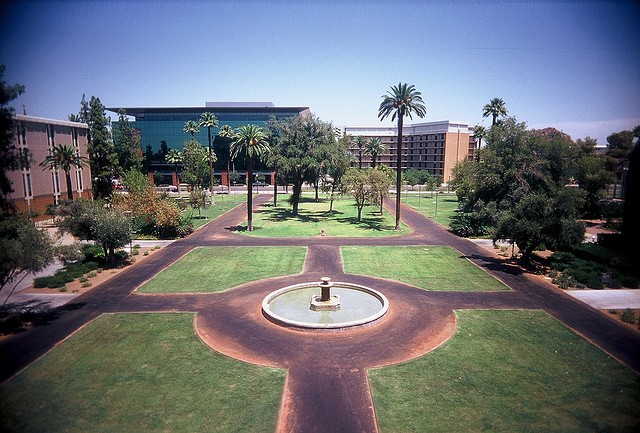 """Arizona State University is ranked first in the annual list of """"best buy"""" public schools released by Fiske Guide to Colleges."""