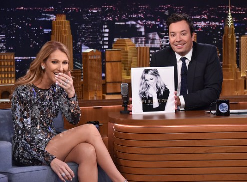 Celine Dion On 'Tonight Show With Jimmy Fallon': 'All By Myself' Hitmaker Spoofs Rihanna, Sia, and Cher On 'Musical Impressions' [VIDEO]