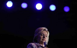 Hillary Clinton Campaigns At Democratic Party Organizing Event