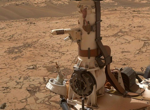 NASA: Martians Might Be Real; They Complicate Mar's On-going Exploration