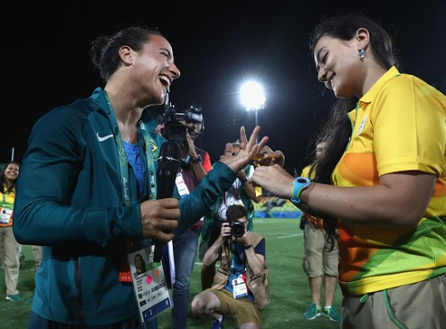 Rio 2016 Olympics: Isadora Cerullo Accepts Marriage Proposal At The Game; The Aussies Slated To Go Toe-To-Toe With The Unbeaten South Africa!