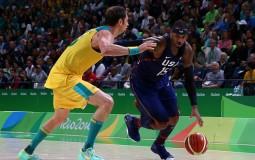 Rio Olympics 2016 Basketball Match Australia vs USA