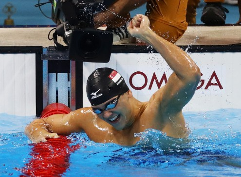 2016 Rio Olympics Results: Team USA's Anthony Ervin Wins Gold; Michael Phelps Loses To Joseph Schooling
