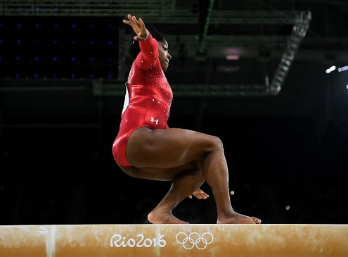 2016 Rio Olympics Results: Simone Biles' Balance Beam Mistake Costs Gymnast The Gold Medal