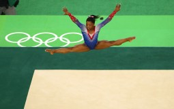 Simone Biles at the 2016 Rio Olympics