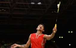 Today is the quarterfinals round for Rio Olympics badminton men's singles