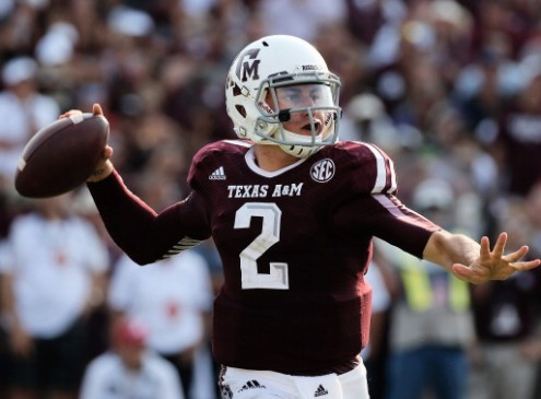 Johnny Manziel Attends Texas A&M Amidst Suspension