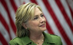 Hillary Clinton Meets With Law Enforcement Leaders In New York City