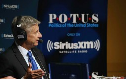 Govs. Gary Johnson And Bill Weld At SiriusXM Libertarian Presidential Forum With Michael Smerconish