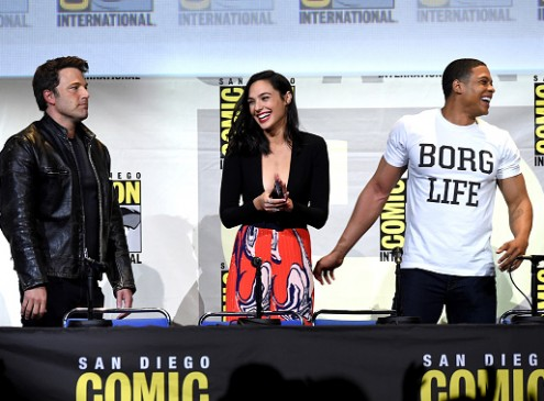 'Wonder Woman' Star Gal Gadot Says Her Co-actors Are Their Characters In 'Justice League' [Video]