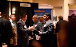 Job Seekers Attend Career Fair