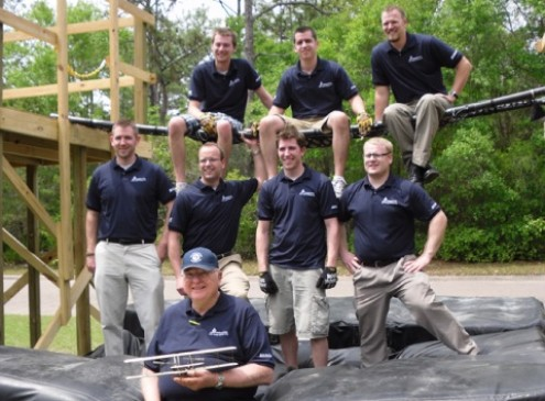 USU Team Design Portable Bridge for War-Fighters; Wins the National Air Force Design Competition