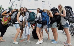 Some college students spend their loan funds on vacation trips