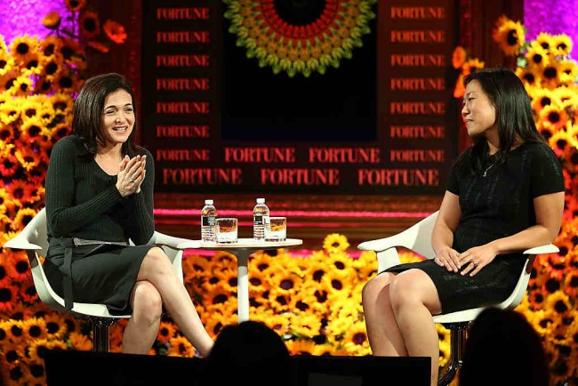 Sheryl Sandberg at the Fortune Most Powerful Women Summit 2016