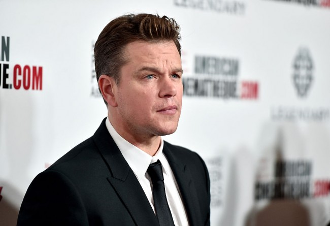 Actor Matt Damon attends the 30th Annual American Cinematheque Awards Gala