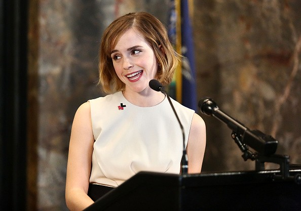 Emma Watson Delivers a Speech at UN Convention