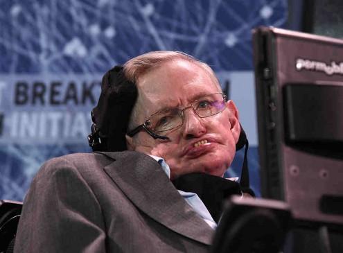 Stephen Hawking Is Headed For Space On Virgin Galactic Trip