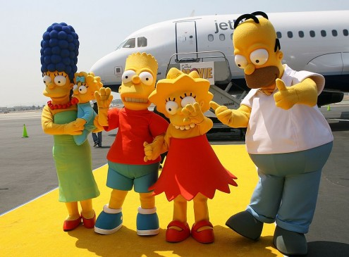 'The Simpsons' University Lecturer Explains Show's Ability To Predict The Future