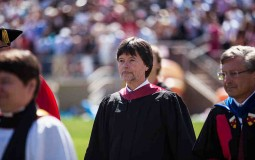 Stanford University Holds Commencement Ceremonies