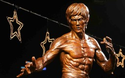 Unveiling Ceremony Of Bruce Lee Bronze Statue In Hong Kong