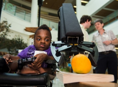 Rice Engineering Students Build Robotic Arm for Texas Teen Suffering from Brittle Bone Disease