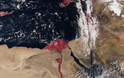 Sentinel-3A Satellite Records The River Nile