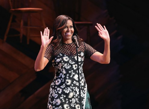Michelle Obama's 2016: All About Education While Hanging Out With Famous Celebrities