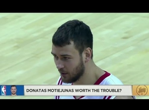 New Orleans Pelicans To Sign Donatas Motiejunas In Veteran's Minimum