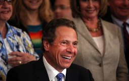 New York Governor Andrew Cuomo announces free college proposal