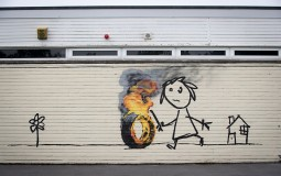 Bristol School Find Banksy Mural After Returning From Holidays