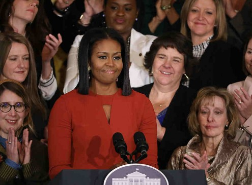 Michelle Obama Honors 2017 School Counselor of the Year [Video]