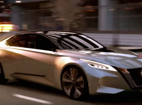 Concept Nissan Vmotion 2.0 Delivers Substance and Self-Driving In Style [Video]