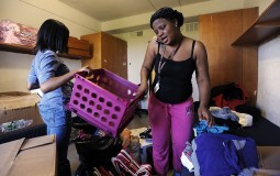 College students moving in to off campus rentals.