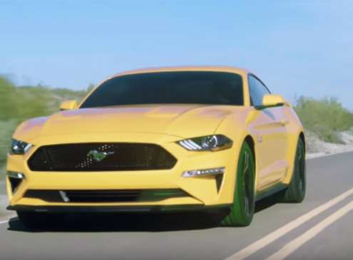 2018 Ford Mustang Gets A Fresh New Look With More Power and Tech Onboard [Video]