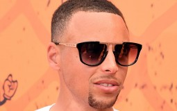 NBA player Stephen Curry attends the Nickelodeon Kids' Choice Sports Awards 2016