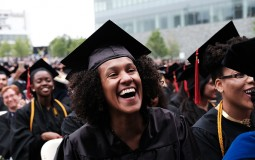 College students graduate only after studying hard and overcoming hurdles like college fees