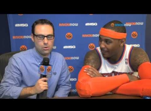 NBA Trade Rumors 2017: Carmelo Anthony Possibly Moving to Cavs, Clippers or Celtics [VIDEO]