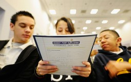 Students Attend College And Career Convention In Los Angeles