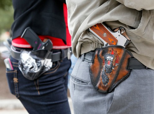 Guns On Campus: Carrying Concealed Arms While In College Not Acceptable For Some