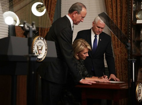 Senate Confirms Betsy DeVos As U.S. Education Secretary