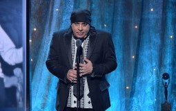 Actor and musician Steve Van Zandt speaks on stage at the 31st Annual Rock And Roll Hall Of Fame Induction Ceremony