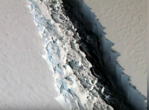 Researchers Evacuate Antarctica; Crack Grew 17 Miles in 2 Months [Video]