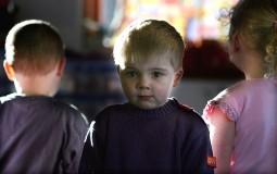 Toddlers in a nursery school
