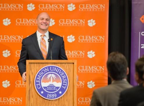 Jim Clements Named New President of Clemson University