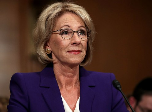 Universities Urge Education Secretary Betsy DeVos To Improve Title IX