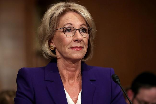 Education Secretary Betsy DeVos urged by universities to improve Title IX policies