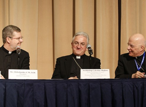 Catholic University Confirms First Lay Leader In Its History