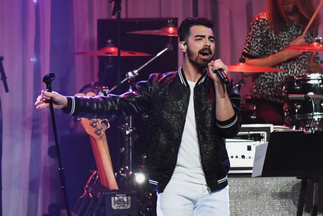 Singer Joe Jonas of DNCE performs onstage